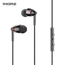 1 MEHR E1010 Quad Fahrer In Ohr Kopfhörer mit Mic 1 mehr quad HiFI Hallo Res Earbuds Kopfhörer headset für Apple Android Xiaomi