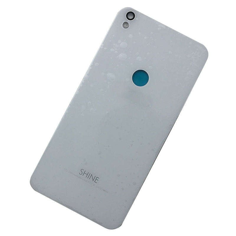 For Alcatel One Touch Shine Lite 5080 5080X 5080A 5080U 5080F 5080Q 5080D New Rear Housing Battery Cover Back Case With Logo