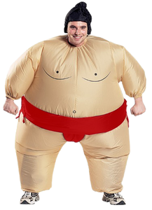 Image 4 - 2 Colors Adult Inflatable Sumo Cosplay Costume Halloween For Men Women Fashion Performance Dropshipping