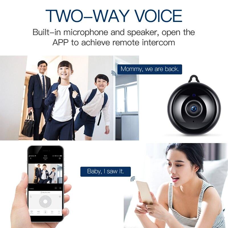Image 5 - DH 1080P IP Camera WIFI Security Wireless CCTV Camera Surveillance IR Night Vision Home Camera Motion Detection Small CameraSurveillance Cameras   -