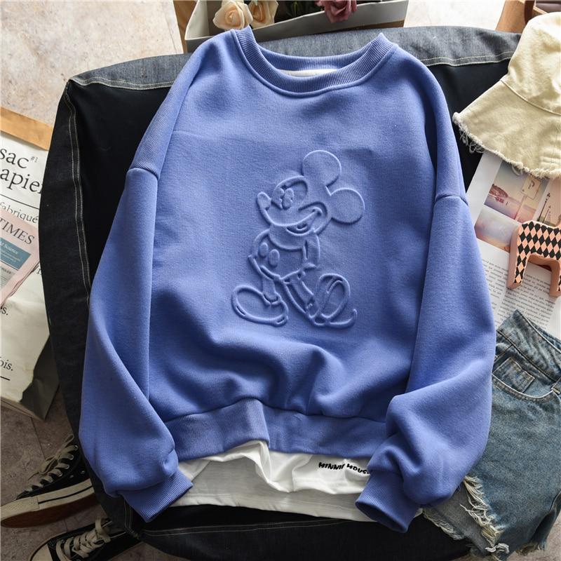 2020 Spring Basic Hoodies For Women Streetwear Female Thin Solid Colour Hoodies Casual Sweatshirt  New Hip Pop Tops