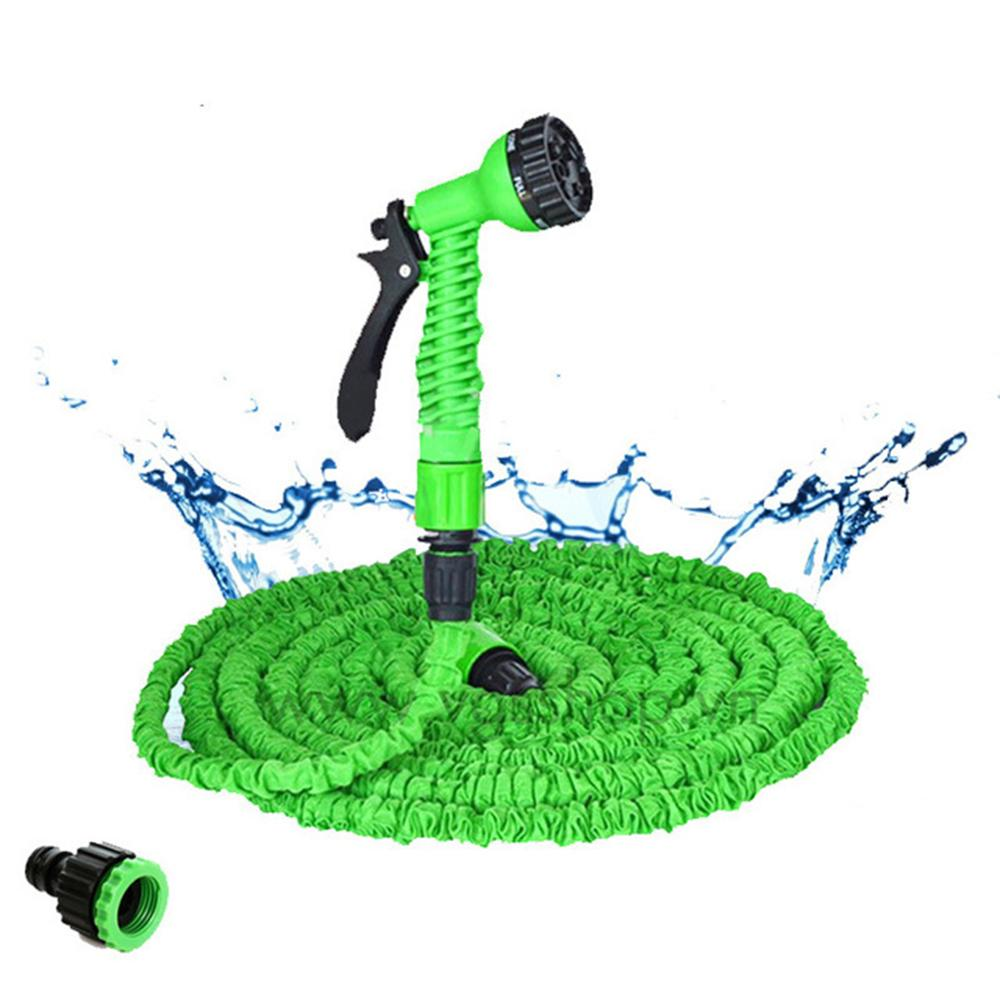 15-30M Expandable Garden Magic Hose Telescopic Water Pipe Irrigation Watering Spray Car Wash Pressure Guns Cleaning Tools