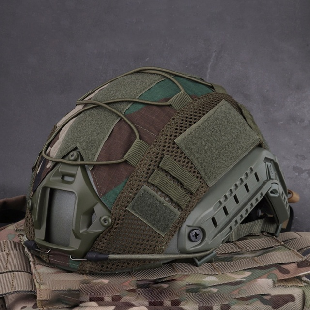 Airsoft Hunting (Tactical Military Combat) Helmet Cover CS Wargame Sport Helmet Cover For Ops-Core PJ/BJ/MH Type Fast Helmet new