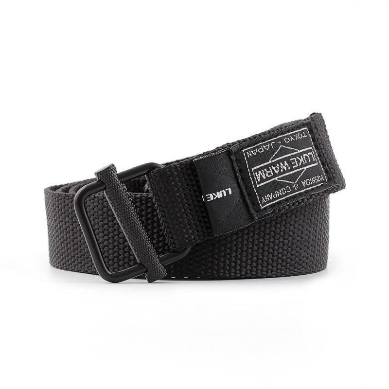 Army Belt Combat Waist Belt Black For Jeans lukewarm Nylon Tactical Belt Metal Buckle Canvas Belts Brand Men Belt Gift