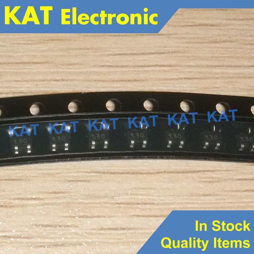 10PCS/Lot PDTC114YU Marking Code T30 T30 *30 SOT-323 NPN Resistor-equipped Transistors