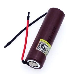 Liitokala neue HG2 18650 3000mAh akku 18650HG2 3,6 V entladung 20A, gewidmet batterien + DIY Silica gel Kabel