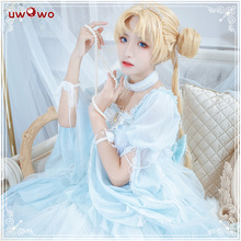 Pre-sale Uwowo 2019 New Sailor Moon Tsukino Usagi Doujin Anime Cosplay Costume With Accessories