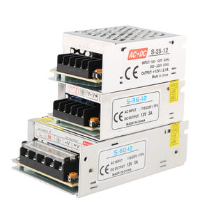 Image 1 - Transformatoren 220V 12 V Netzteil 1A 2A 3A 5A 8,5 EINE 10A 15A 20A 12 V Netzteil adapter Led treiber Transformatoren 220V Zu 12 V