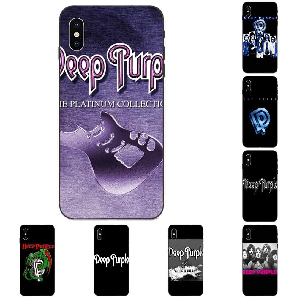 TPU Capa Coque Deep Purple British Rock For Xiaomi Redmi Note 3 3S 4 4A 4X 5 5A 6 6A 7 7A K20 Plus Pro S2 Y2 Y3