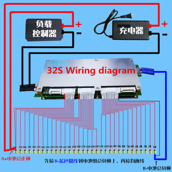 ANT BMS 8s - 32s Lifepo4 LTO-Placa de protección de batería inteligente, 96V, 72V, 100A, 200A, 320A, con Bluetooth y pantalla 2