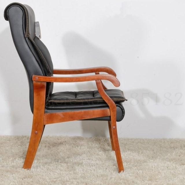 Solid Wood Computer Home Office Chair  3