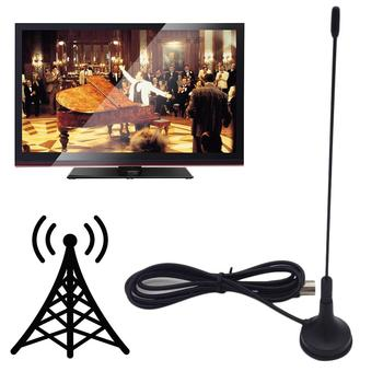 5dBi USB Digital DVB-T HDTV Antenna Aerial Sucker Indoor Terrestrial TV Receiver 2020 image