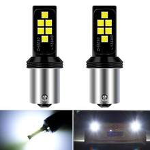 2x P21W LED Canbus BA15S 1156 Bulb Car Reverse Signal Lamp DRL NO Error For Mercedes Mercedes C200 2014/Seat Leon MK2 2012