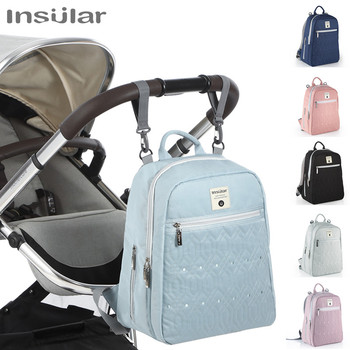 Fashion Diaper Bag Mummy Bag Large Capacity Maternity Nappy Bag Waterproof Multi-function Stroller Baby Backpack
