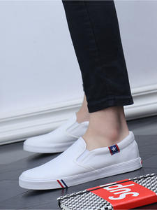 Sneakers Vulcanize-Shoes Platform White New Flats England-Style Breathable Men Fashion