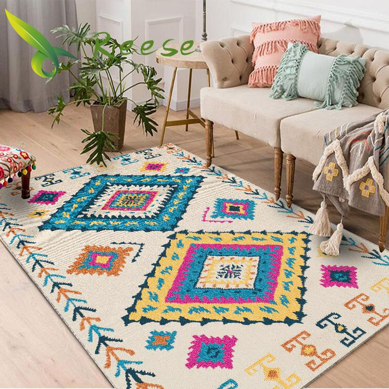 Alibaba מכירה לוהטת מודרני 3d יפני-סגנון עץ רצפת שטיח לסלון החלקה Antifouling שטיח לחדר שינה סלון במפעל
