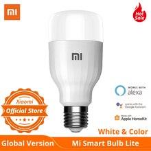 Globale Version Xiaomi LED Intelligente Birne Lite Farbe & White APP WIFI Voice Control 9W 950 Lumen 16 Millionen farbe Temperatur Lampe