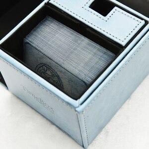 Image 4 - 100 أجزاء/وحدة 66x91 مللي متر آلهة أوراكل فيبي إريس بطاقة الأكمام لوحة لعبة بطاقات واقية الدروع ل MGT PKM التجمع السحري