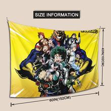 My Hero Academy Cosplay Anime Poster Paper Vintage Posters Home Room Children's Room Decoration Art Wall