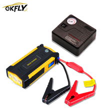 Power-Bank Car-Booster Jump-Starter GKFLY Portable Diesel Multifunction Emergency-Starting-Device