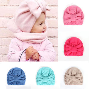 Balleenshiny Warm Baby Hats Bonnet Beanie Head-Accessories Turban Gifts Infant Girls