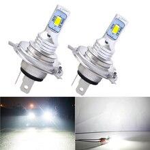 1 Pair H3/H8/H4/h7 Led H4 H7 Led Car Lights 3000lm LED Bulb White 6000K Car Headlight Led H7 Headlamp H1 Led Car Lamp Auto va2445 led