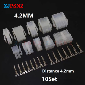 10Set 5557/5559 2 3 4 6 8 10 12 14 16 18 20 22 24 Pin Automotive Wiring Harness Connector Male Female Terminal Motorcycle Ebike image