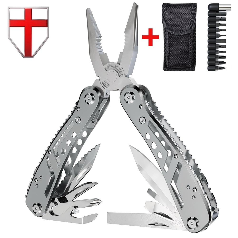EDC Multitool with Mini Tools Knife Pliers Swiss Army Knife and Multi-tool kit for outdoor camping equipment(China)