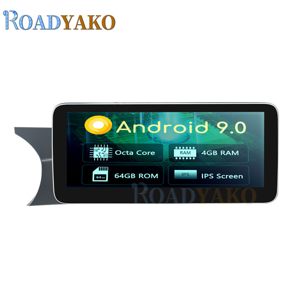 10.25'' Car Radio <font><b>Android</b></font> 9.0 For Mecerdes Benz C <font><b>W204</b></font> 2011-2014 Stereo Auto Car Navigation GPS Video player 2 Din <font><b>Autoradio</b></font> image