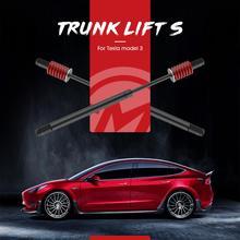 2pcs ด้านหลัง Tailgate Struts สำหรับ Tesla รุ่น 3 BOOT แก๊สฤดูใบไม้ผลิ Shock สนับสนุนไฮดรอลิก Rod