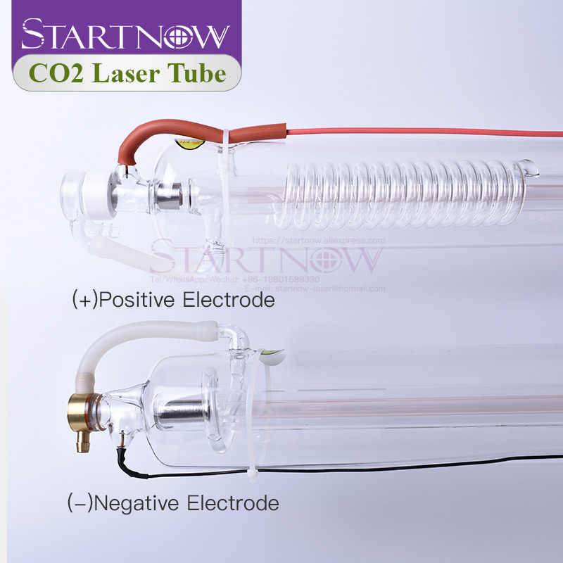 CO2 Laser Tube 150W 1650mm 80mm Co2 Glass Lamp For Laser Carved Chapter Engraving Marker Cutting Machine Parts Double Package