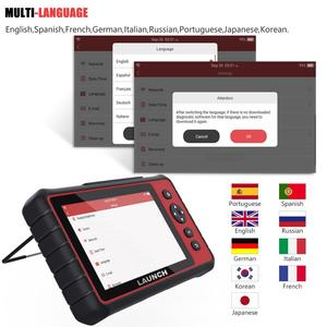Image 4 - Launch X431 CRP909 OBD2 Scanner IMMO SAS DPF TPMS Oil Reset Full System OBD 2 Code Reader PK MK808 Launch X431 ODB2 Scan Tool