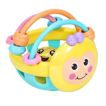 2020 śliczne dzwonki muzyczne rozwojowe zabawki dzwonki do łóżeczka dla dzieci zabawkowa grzechotka dla niemowląt grzechotki dla dzieci i telefony komórkowe tanie i dobre opinie Z tworzywa sztucznego CN (pochodzenie) Unisex 1*Handbell toy 0-12 miesięcy Geometryczny kształt Oddziela SOFT 8 * 8 * 2 cm