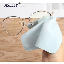 10 pcs/lots High quality Chamois Glasses Cleaner Microfiber Glasses Cleaning Cloth For Lens Phone Screen Cleaning Wipes Eyewear 10pcs lens clothes eyeglasses cleaning cloth microfiber phone screen cleaner sunglasses camera duster wipes eyewear accessories