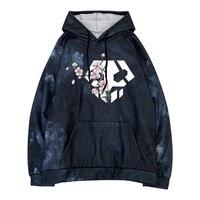 Hot Anime Bleach Logo Streetwear Fashion Casual Sweatshirt Hoodie