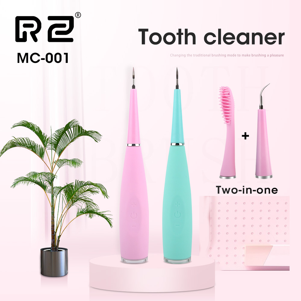 MCMEIICAO Portable Electric Sonic Dental Scaler Tooth Calculus Remover Tooth Tartar Tool Dentist Whiten Teeth Health Hygiene