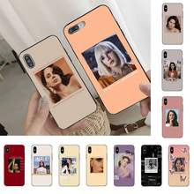 YNDFCNB lindo Lana Del Rey para iPhone 11 8 7 6 6S Plus X XS X MAX 5 5S se 2020 11 12pro max iphone xr caso