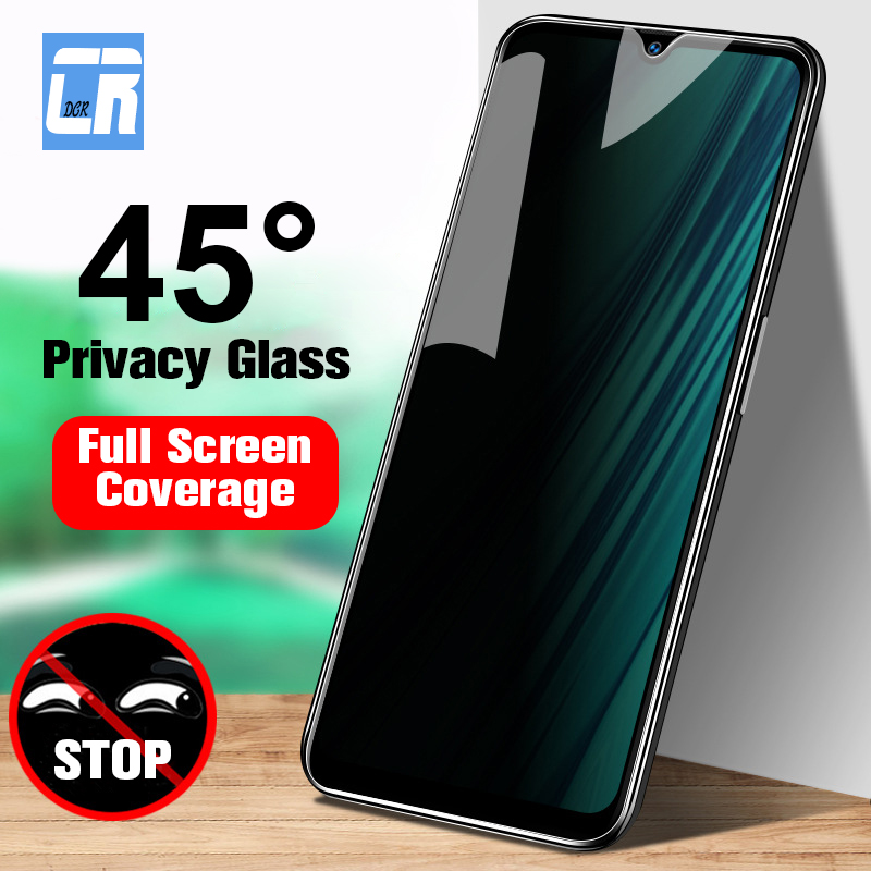 9H Full Privacy Screen Protector Tempered Glass For Redmi Note 7 8 K20 Pro Anti Spy Glass For Xiaomi CC9E 9 8 SE Protective Film