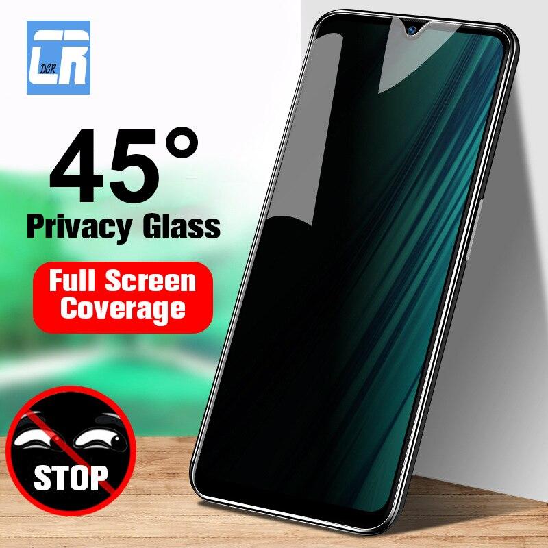 9H Full Privacy Screen Protector Tempered Glass For Redmi Note 7 8 K20 Pro Anti Spy Glass For Xiaomi CC9E 9 8 SE Protective Film