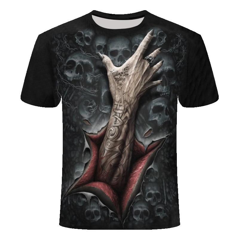 Прямая поставка Лето NewFunny Череп 3d футболка летние хипстерские короткий рукав футболки Для мужчин/Для женщин футболки с аниме рисунком Мужская, с коротким рукавом, Топ - Цвет: TX625