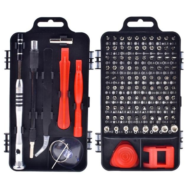 115 ב 1/110 ב 1 מברג סט מיני דיוק מברג נייד תיקון יד סטי מכשיר אלקטרוני יד כלים