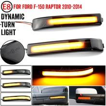 LED Side Bumper Flasher Light, Dynamic Turn Marker, for Ford F 150, F150, 04 14, Raptor Expedition for Lincoln Mark LT