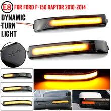LED parachoques del lado de Flasher luz dinámica marcador de turno para Ford F 150... F150 04 14 Raptor expedición para Lincoln Mark LT