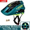 BATFOX Homens Capacete Da Bicicleta Capacete de Mountain Bike XC TRAIL MTB Ultraleve Capacete Estrada Integ-Moldado cruz Ciclo Ciclismo BMX capacete 17