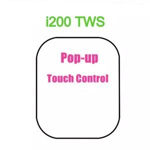TWS-наушники i200 с поддержкой Bluetooth и сенсорным управлением