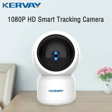 1080P HD YCC365 Plus WiFi IP Camera Auto Tracking of Human Mini WiFi Camera Indoor PTZ Home Security Camera Baby Monitor