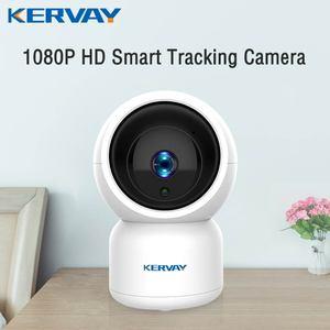 Image 1 - 1080P HD YCC365 Plus kamera IP WiFi automatyczne śledzenie człowieka Mini kamera wi fi kryty PTZ bezpieczeństwo w domu kamery niania elektroniczna Baby Monitor