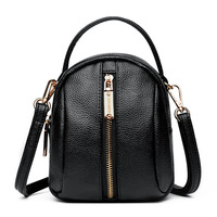 crossbody bag women 2019 fashion black pu leather messenger bag for women mini shopping women bag shoulder bag for girl