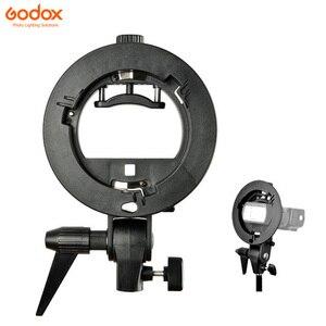 Image 5 - GODOX 40x40cm / 50x50cm / 60x60cm / 80x80cm  Softbox mit S Typ Halterung stabile Bowens Mount Halterung Montieren Faltbare Softbox Kit