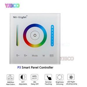 Image 4 - MiBOXER P1/P2/P3 Smart Panel Controller Dimmen Led Dimmer RGB/RGBW/RGB + CCT Farbe temperatur CCT für Led Panel/Streifen Licht